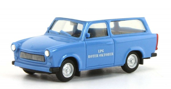 Herpa 093040-A18 - Trabant 601 Universal 'LPG Roter Oktober'