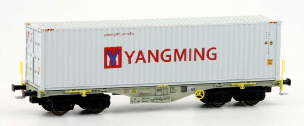 Rocky-Rail RR-40126 - Containerwagen Sgmmns 40, VTG/AAEC, Ep.VI 'Yang-Ming'