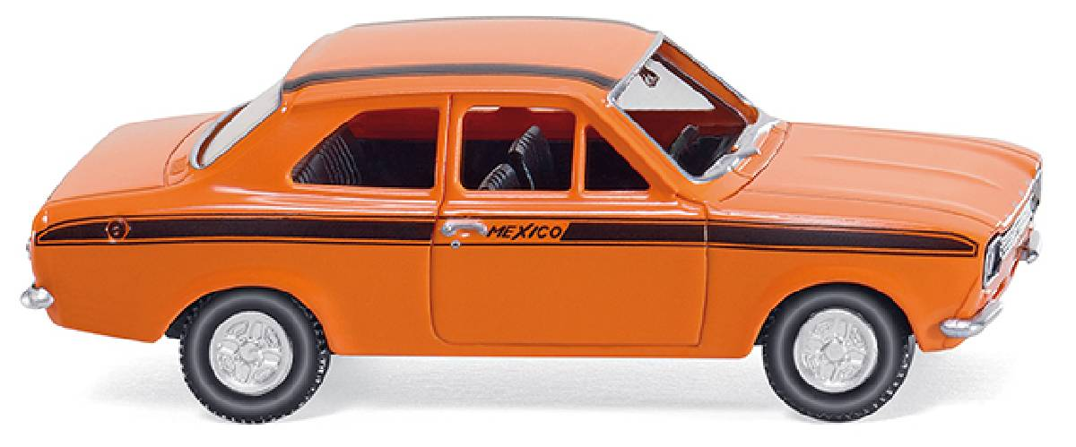 wiking 020305 ford escort 39 mexico 39 orange wiking. Black Bedroom Furniture Sets. Home Design Ideas