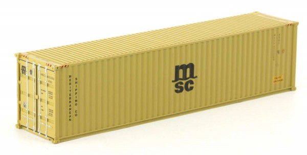 Rocky-Rail RR-40010 - Container 40', MSC
