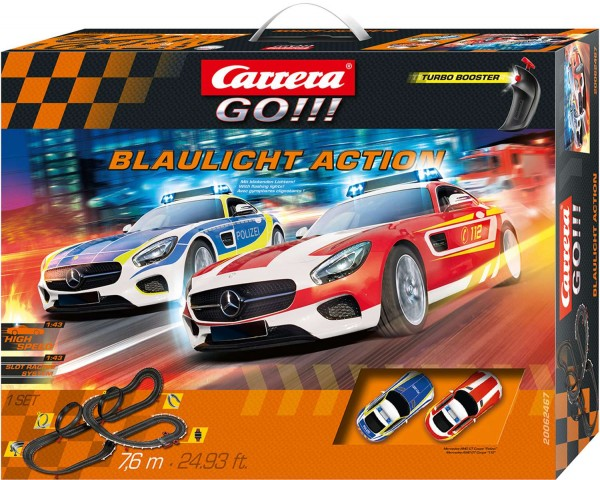 Carrera 62467 - GO!!! Set Blaulicht Action